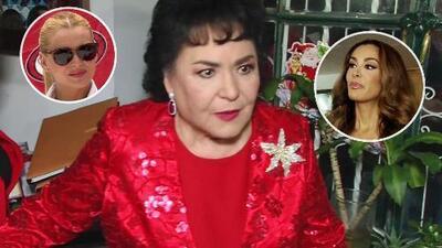 Carmen Salinas tiene algo que decirles a Marjorie de Sousa y a Ninel Conde sobre sus pleitos legales