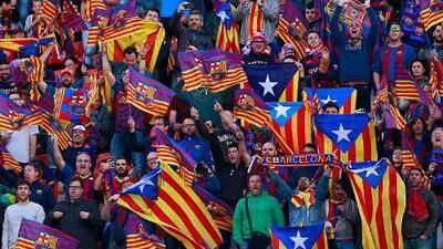 UEFA y Barcelona dejan en el pasado polémica por esteladas