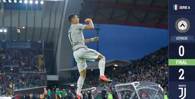 Cristiano Ronaldo marca y lidera otra victoria de la Juventus