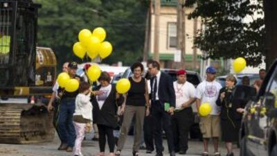 Las emotivas palabras de Michelle Knight en la demolición de la casa del horror