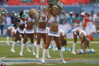Domingo de NFL, domingo de ¡Cheerleaders!
