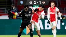 Edson se llevo el 'duelo' de mexicanos en Copa de Holanda