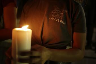 En fotos: Consternación en El Paso tras uno de los tiroteos más mortales de la historia reciente del país