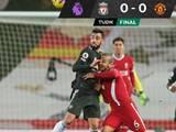 Liverpool y el United empataron en un duelo vibrante