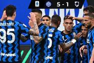 Inter celebra su título de la Serie A con goleada ante Sampdoria