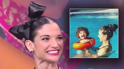 A Natalia Jiménez se le ilumina el rostro al contar las travesuras de su pequeña hija Alessandra