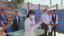 Este sábado madres con niños pequeños recibirán pañales y despensas gratis de la Familia de Marlen Ochoa