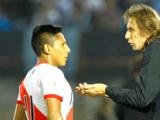 """Gareca elogió la actuación de Ruidíaz con Perú: """"Me gustó todo el partido de Raúl"""""""