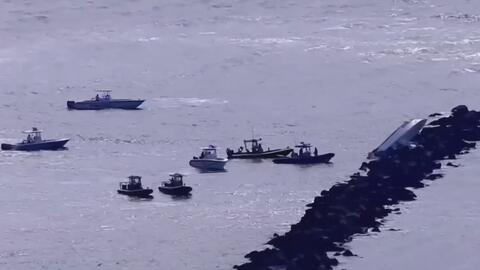 Dos personas muertas, una herida y otra desaparecida tras el accidente de un bote en Miami Beach