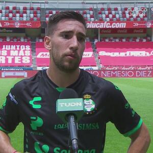 "Fernando Gorriarán tras vencer al Toluca: ""Nos sirve para tomar confianza"""