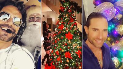 El álbum navideño de los actores de telenovela