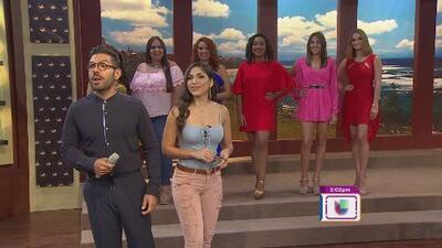 Aspirantes a Nuestra Belleza Latina pre audicionan en Ahora Es