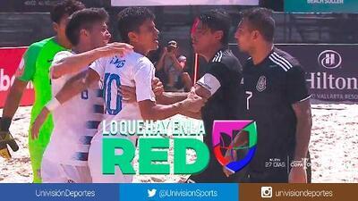 ¡Hierve la Final en Puerto Vallarta! Bronca entre jugadores del Tri y el Team USA