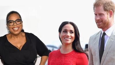 Príncipe Harry y Meghan Markle se unen a Oprah Winfrey para trabajar en un documental