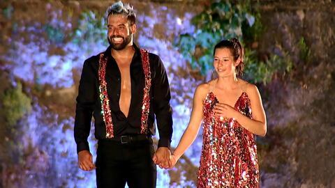 Ella demostró que también sabe bailar y ganó este divertido Reto 4 Vota