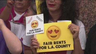 Preocupación entre millones de inquilinos en Los Ángeles sobre el futuro de la ley de control de rentas