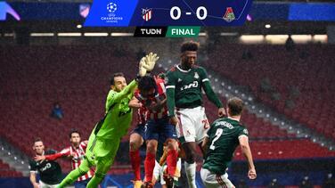 Atlético de Madrid firma empate con Lokomotiv, pero aún vive