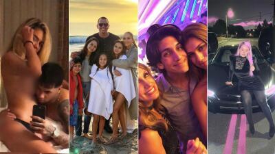Viajes, fotos íntimas y momentos en familia: así fueron las fiestas de los famosos