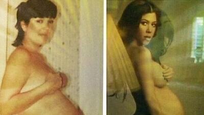 ¡Kourtney Kardashian sigue los pasos de su madre!
