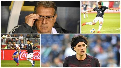 Detalles del arranque de Martino con el Tri: debutaron tres, los 100 de Ochoa y Jona, el goleador
