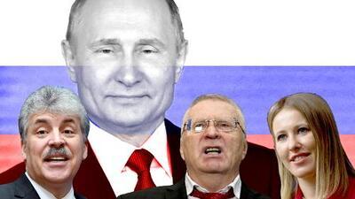 Rusia celebra una elección en la que ya se sabe el resultado: la ratificación de Putin en la presidencia
