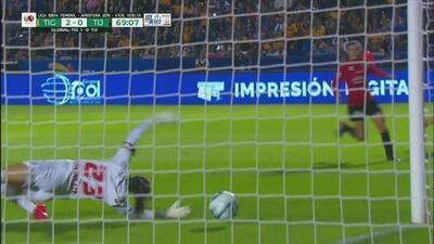 Autogol de Tijuana y Tigres toma ventaja de 2-0