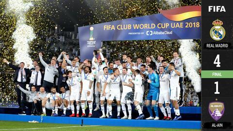 Real Madrid, Sultán de Abu Dhabi y del Mundial de Clubes: trituró a Al Ain