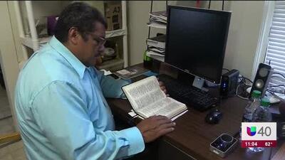 El pastor José Chicas lleva casi dos años viviendo en santuario en Durham