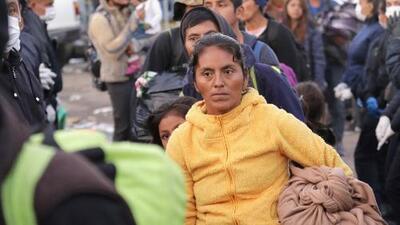 Trabajo y asilo en EEUU, parte de las peticiones que tienen para Año Nuevo los migrantes de la caravana en Tijuana