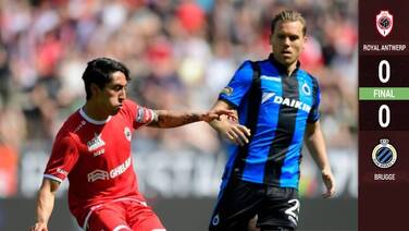 Omar Govea y Antwerp empatan en Playoffs de la Jupiler Pro League