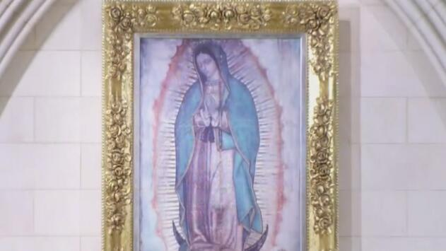 Con cantos, danzas y comida mexicana, feligreses se preparan para venerar a la Virgen de Guadalupe en Dallas