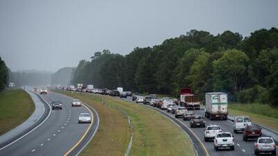 Estas son las rutas de evacuación en las Carolinas y Virginia