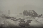 Video capta un masivo choque de 22 autos en Wisconsin durante tormenta de nieve