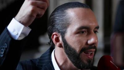 Bukele recibe a Pompeo para abordar una solución para los migrantes salvadoreños