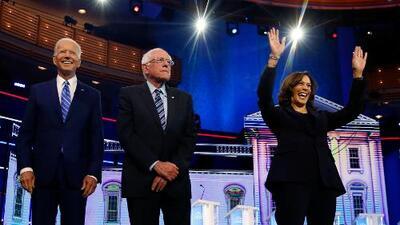 Kamala Harris se impone a Joe Biden en el debate demócrata atacándolo por una polémica decisión de sus primeros años en el Senado