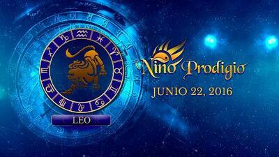 Niño Prodigio - Leo 22 de Junio, 2016