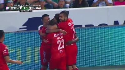 Lobos reaccionó y 'Negro' Medina puso el 1-1