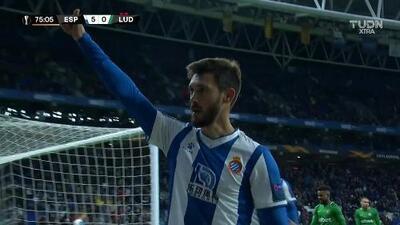 ¡GOOOL! Facundo Ferreyra anota para Espanyol