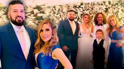 Karla Panini asistió a la boda de su exmarido acompañada por su esposo, Américo Garza, viudo de Karla Luna