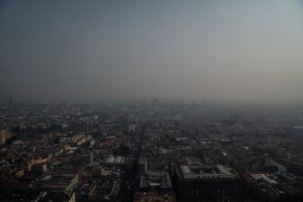 📷Así se vio el cielo de la Ciudad de México en una de sus mayores crisis ambientales
