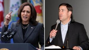 """""""La peor elección posible"""": lo que opina el gobernador de Arizona de Kamala Harris, quien manejará la crisis migratoria en la frontera"""