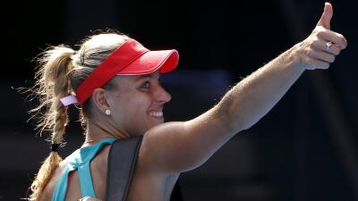 Angelique Kerber contra Serena Williams en la final del Abierto de Australia