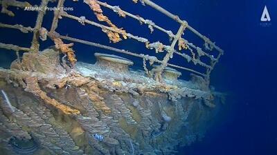 Una bacteria devora-metales destroza las ruinas del Titanic
