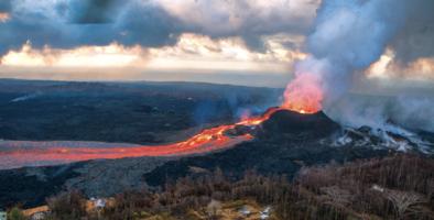 Tres de los volcanes más peligrosos del país se encuentran en California