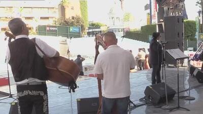 Mariachis de la región mostraron su talento en la Feria de Fresno