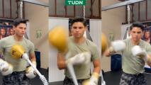 ¡'King' García is back! Ryan vuelve a los entrenamientos