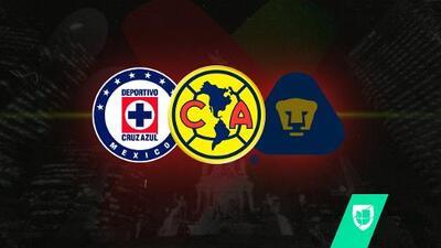 ¡Liguilla histórica! América, Cruz Azul y Pumas están juntos en Semis por primera vez