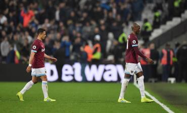 En fotos: Chicharito no pudo evitar la derrota en casa del West Ham contra Everton