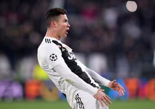 El festejo de Cristiano Ronaldo dedicado a Simeone y la celebración de Juventus en Champions