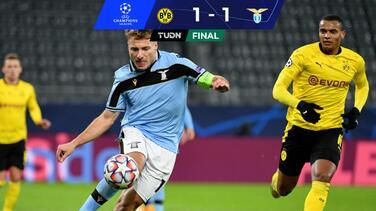 Dortmund consigue el boleto a Octavos al empatar con Lazio